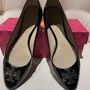 Tory Burch Raleigh Ballet - Patent Leather